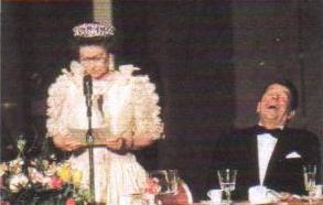 The Queen and Regan