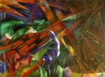 The Fate of the Animals de Franz  Marc