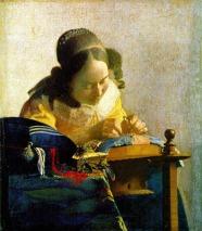 Vermeer - Dantelareasa