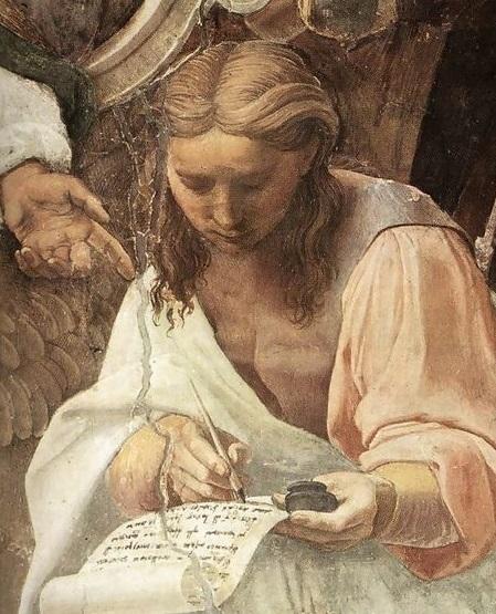 Raphael - la disputa - detaliu