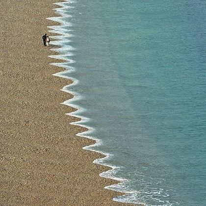 zimții plajei