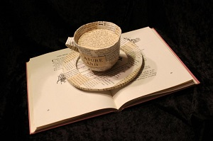 coffe_cup_book sculpture by wetcanvas